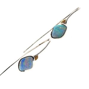 Elektron-boulder-opal-earrings
