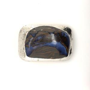 Boulder-opal-belt-buckle-silver