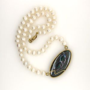 Yowah-opal-pearl-necklace