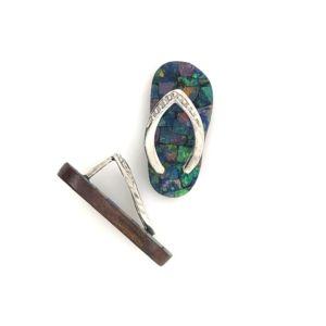 Mosaic-opal-thong