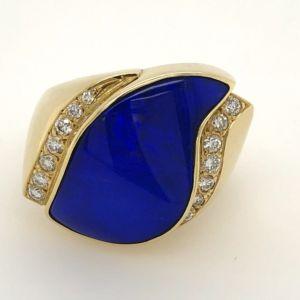 Blue-boulder-opal-ring