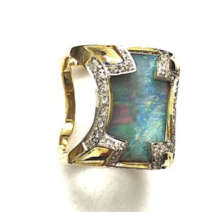 Cyclo-opal-ring-multicolourS