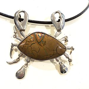 Opal-silver-crab-bolda