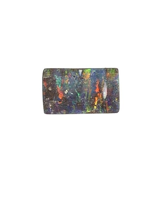 Rectangle-boulder-opal-red-clour