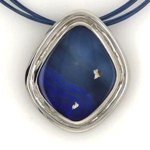 925Silver-boulderopal-pendant