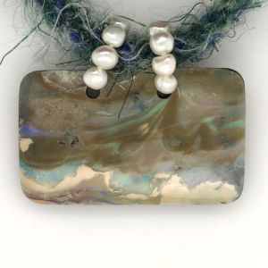 Mohair-opal-collier