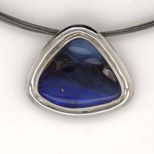 Blue-boulder-pendant-silver
