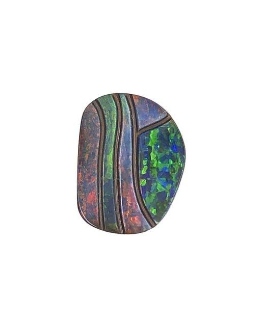 Impressionist-Boulder-opal-carving