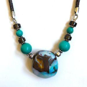 Naoko-luis-boulder-opal-design-necklace