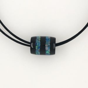 Onyx-opal-bead