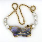 Gold-necklace-black-opal-chocolate-diamond-reverse