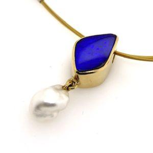 Gold-keshi-pearl-boulder-opal-pendant