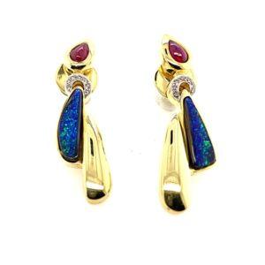Gold-boulder-opal-earrings-luli