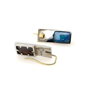 Kubik-earrings-boulder-opal-bolda