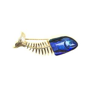 Boulder-opal-fish-gold-18k-Aquatika-skeletal