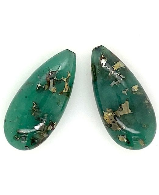 Emerald-pyritized-drops-pair