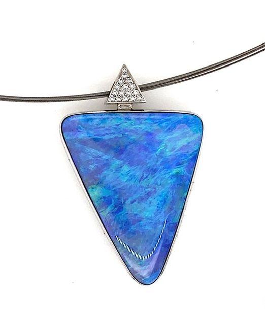 Kosmos-be-bolda-blue-opal-pendant-peter-Baer